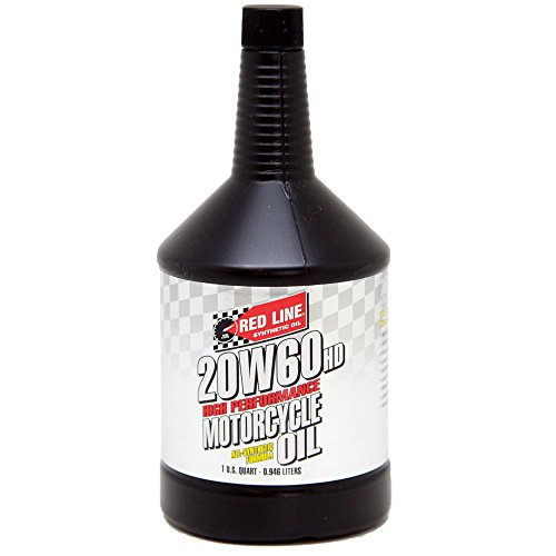 Redline Motorcycle Oil (Red Line 12604 20W-60 Motorcycle Oil - 1 Quart)