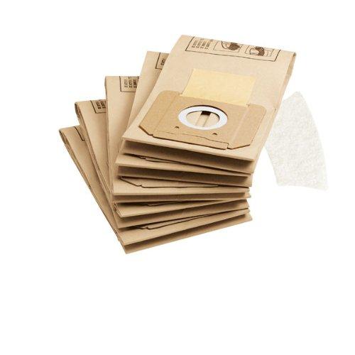 Kä rcher Sachet filtre papier accessoires pour les aspirateurs eau et poussiè res A 2701, A 2801 et A 2801+ Kärcher 6.904-263