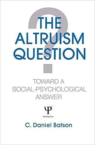 A psychology question?