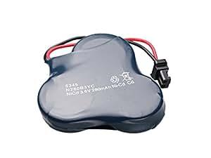 Avalva 5345 batería con el conector universal de 3,6 V / 280 mA Azul