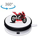 MONODEAL Motorized Turntable Display,360 Degree Electric Rotating Display Turntable for Display Jewelry Watch,Digital Product,Shampoo,Glass,Bag,Models, Diecast,Jewelry,Cake and Collectibles