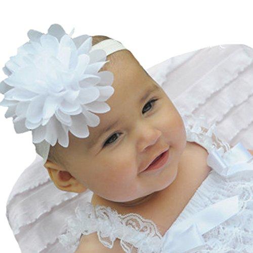 Miugle Headbands Chiffon Infant Toddler
