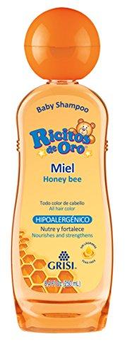 Ricitos de Oro Shampoo, Miel, 250 ml