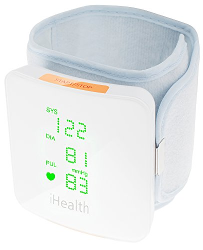 iHealth View Wireless Wrist Blood Pressure Monitor with Display for iPhone and Android