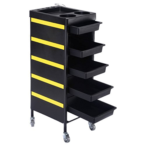 34-salon-spa-beauty-styling-station-trolley-equipment-storage-tray-rolling-cart-black-390