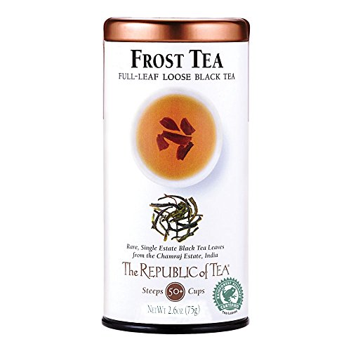 The Republic Of Tea Frost Black Tea, 2.6 Ounces Or 50 (Frost Tea)