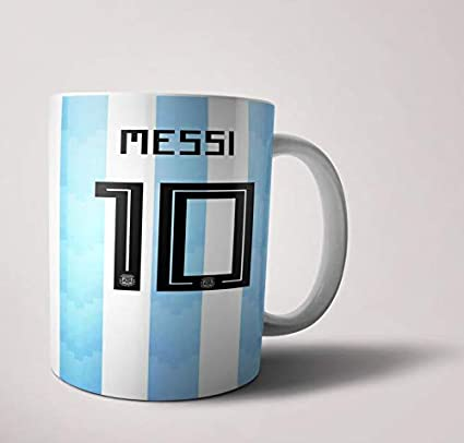 official photos 4f36c 8483a Lionel Messi Mug Football Fan Gift Merchandise Mug Under 300 ...