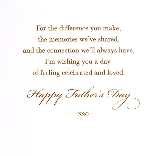 Hallmark Father's Day Greeting Card for Family or Relative (Connection We'll Always Have) Photo #5
