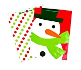 Hallmark Holiday Large Gift Bags (Red & Green Icons, 2 Pack)