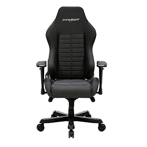 - DXRacer DX Racer DOH/IS132/N Black Racing Bucket Seat Office Chair Racing Style Ergonomic Computer Chair Comfortable Desk Chair Rocker