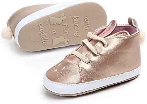 2148dfa3210c Amacok Infant Baby Girls Soft Sole Sneakers Toddler Kids Leather First  Walkers Crib Shoes First Walking