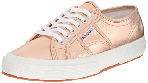 Superga Women 2750 Cotmetu Fashion Sneaker Rose Gold