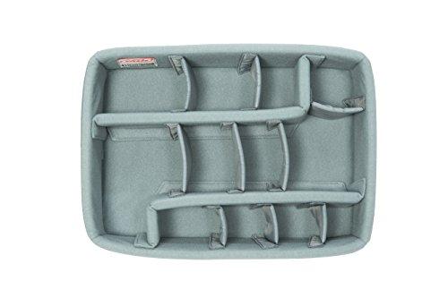 SKB Cases iSeries Storage Organizer iSeries 3i-1510-6 Think Tank Designed Padded Divider Set, Gray (5DV-1510-TT)
