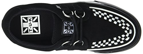 VLK Blk U Adulto Alte Wht Ring Noir INT – Black Sneaker White Unisex Creep Sde T Suede K D Sneak 0E4gxg