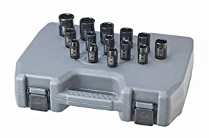 Ingersoll Rand SK4M14 1/2-Inch Drive 14-Piece Metric Standard Impact Socket Set
