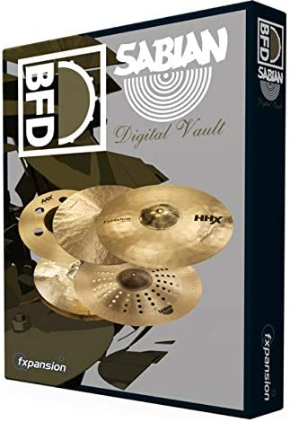 FXPANSION エフエックスパンション BFD3/2用拡張音源 BFD3/2 Expansion Pack: Sabian Digital Vault