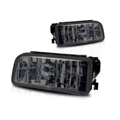 Winjet WJ30-0079-11 Smoke Lens Fog Light (BMW M3 (E36)) (325i Fog Bmw Light)