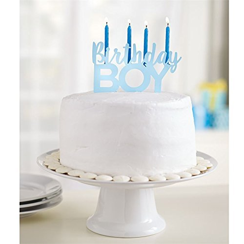 Birthday Boy Cake Topper By Mud Pie