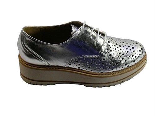 Zapato Vexed 397 plata Plateado