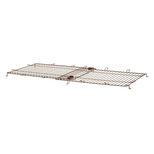 (Richell Expandable Pet Crate Wire Top, Medium, Dark Brown)
