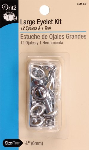 Dritz(R) Eyelets With Tool - Nickel (Dritz Kit Eyelet)
