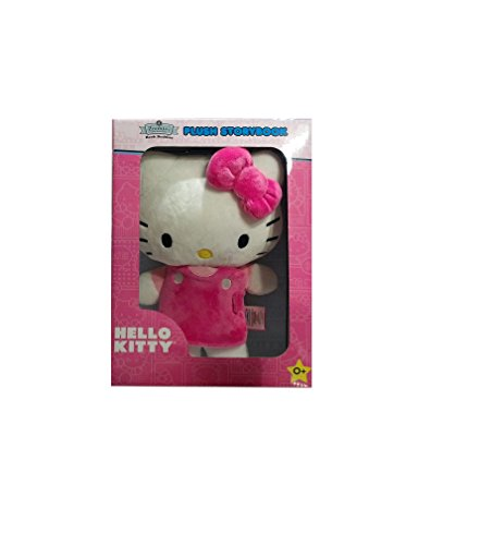 Hello Kitty Zoobies Book Buddies Plush Storybook, 0+ (Zoobies Toy Plush Soft)