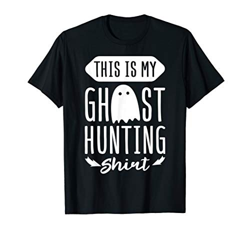 This Is My Ghost Hunting Shirt Funny Gift Tee Ghosts Hunter ()