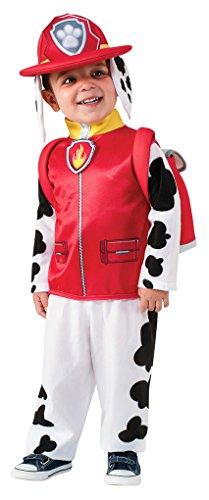 Dalmation Children Halloween Costumes (Big Boys' Paw Patrol: Marshall Costume - S)
