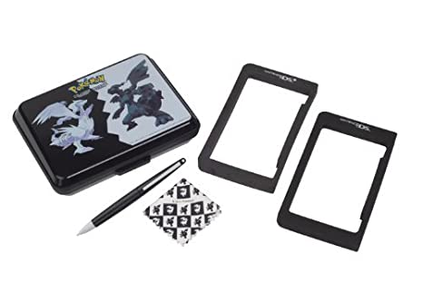 Nintendo DS - Carcasa Rígida Pokémon, Color Negro Y Blanco ...