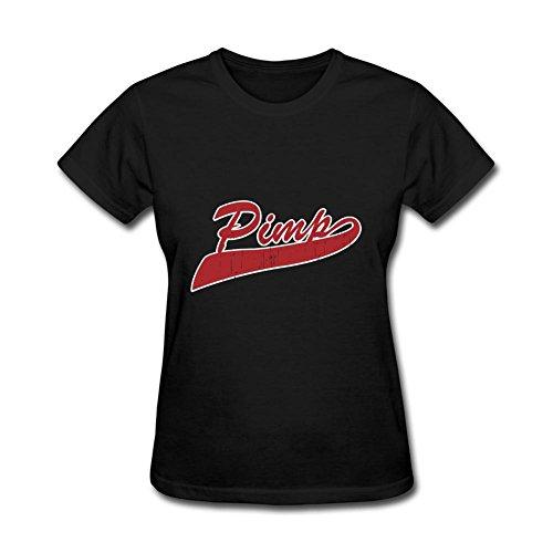 Women's Pimp-Logo2 Short Sleeve T-Shirt]()