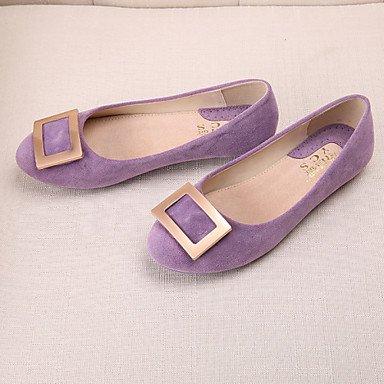 Cómodo y elegante soporte de zapatos de mujer Flats punta redonda/cerrado en los dedos/Flats Casual Flat Heel othersblack/azul/amarillo/rosa/ amarillo