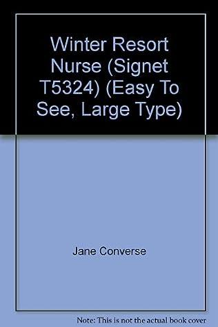 book cover of Winter Resort Nurse