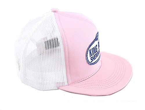 King Ropes Base Ball Caps By Kings Saddlery - New Colors, Different Styles (Pink/White)