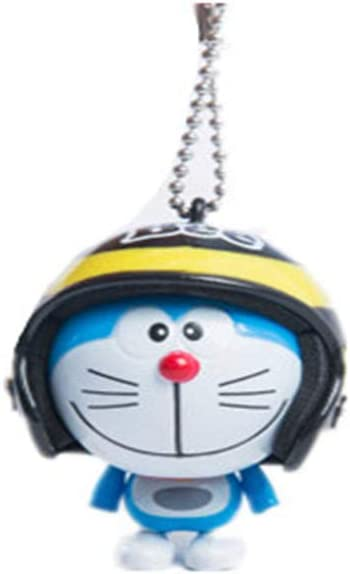 New Cute Kawaii Cartoon Anime Blue Robot Cat Shape Keyring Bag Buckle Phone Pendant Amazon Co Uk Office Products
