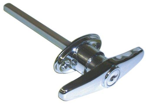 Ideal Garage Door (Ideal Security SKT9303 Keyed T Garage Door Replacement Lock)