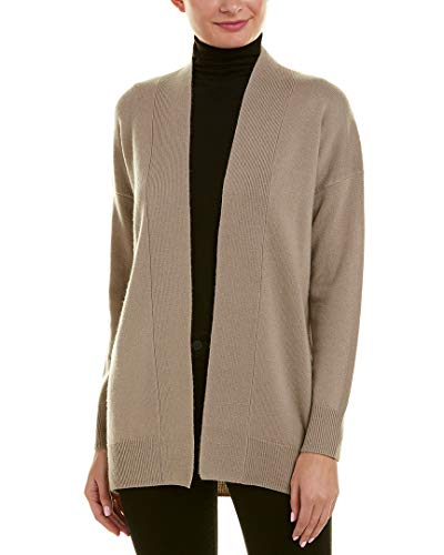 Vince Womens Dropped-Shoulder Wool & Cashmere-Blend Cardigan, M