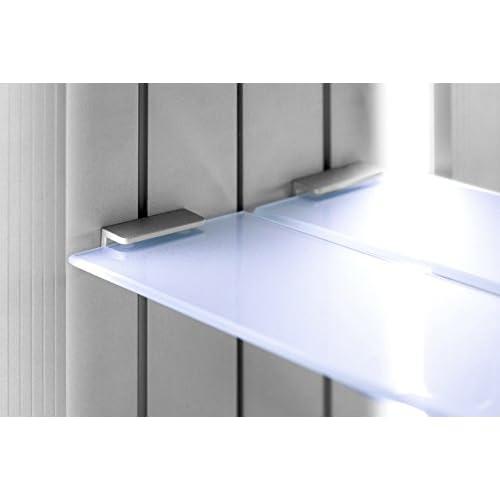 delicate Nova Demister LED Bathroom Mirror Cabinet With Demister Pad, Sensor & Shaver k257
