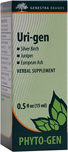 Genestra Brands – Uri-gen – Silver Birch, Juniper, and European Ash Herbal Supplement – 0.5 fl. oz.