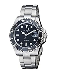 Carlien Parnis Sapphire Glass Ceramic Bezel Submariner Automatic Mechanical Men's Watch by Carlien