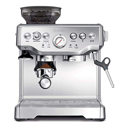 Breville BES870BSXL The Barista Express Coffee Machine (Stainless Steel)