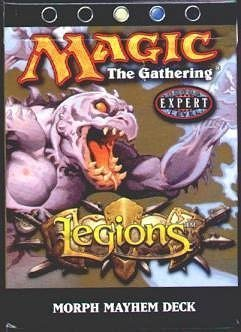 Legions Theme Deck - Magic The Gathering - Legions Theme Deck - Morph Mayhem