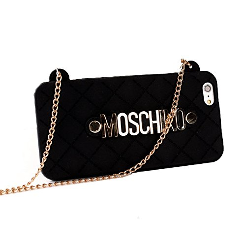 Moschino Iphone Case With Chain