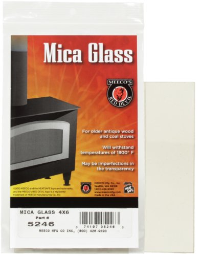 MEECO'S RED DEVIL 5246 Mica Glass for Stoves