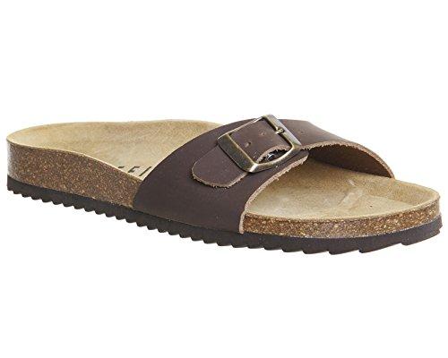Office - Sandalias de vestir para mujer marrón marrón