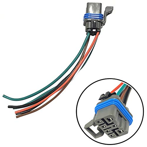4L60E 4L80E Neutral Safety Switch Connector Pigtail 7 Wire MLPS Range Switch ()