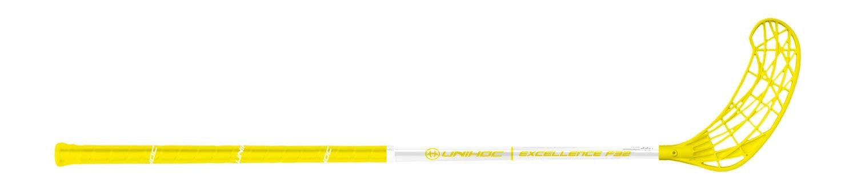 Unihoc   Floor Pelota Raqueta Uni Hockey Stock–Excellence 32, Color Blanco/Amarillo–händigkeit: Información del Producto ¡ATENCIÓN. Renew Group Sweden AB