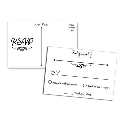 wedding response cards amazon com