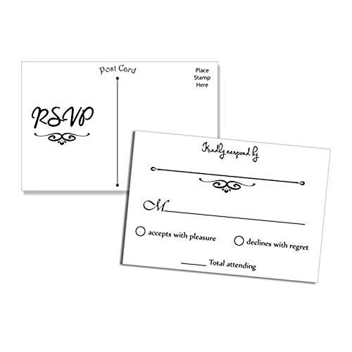 RSVP Cards Wedding Amazoncom