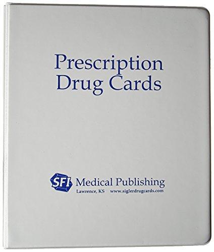 Sigler's Prescription Top 300 Drug Cards 2017