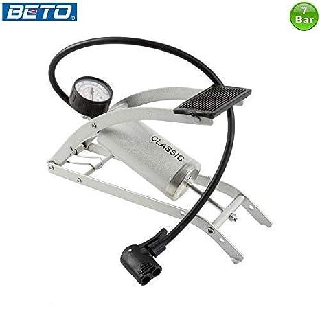 Classic Bomba de Aire de Bicicleta Bomba Aire de Pie Aluminio 7 ...